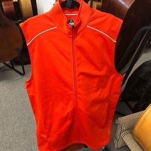 PGA Tour ProSlam Orange Vest Macy's NWT Size XL